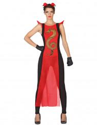 Kostume samurai til kvinder