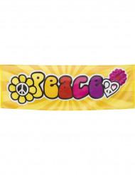 Hippie Flower Power banner