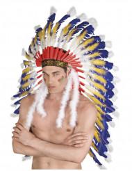 Indianer hovedbeklædning - voksen