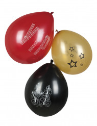 Balloner 6 stk VIP 25 cm