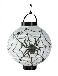 Lanterne edderkop 20 cm Halloween
