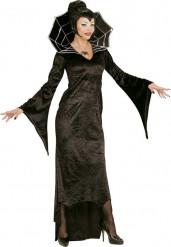 Sort vampyr-kostume voksen Halloween