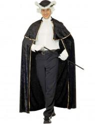 Kappe venetiansk forfører med jabot sort til voksne