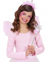 Tryllestav og tiara prinsesse lyserød