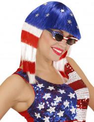 Paryk amerikansk skønhedsdronning til kvinder