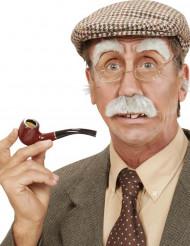 Overskæg og øjenbryn olding til voksne