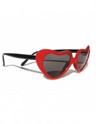 Hjerteformede briller