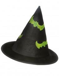 Selvlysende heksehat Halloween