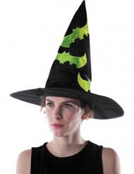 Selvlysende heksehat Halloween voksen