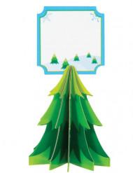 Bordkort 4 stk. med juletræ