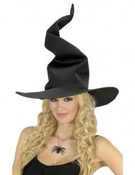 Sort elegant Halloween heksehat til kvinder