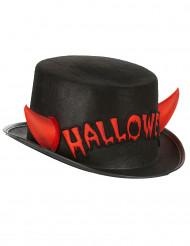 Høj hat med horn Halloween