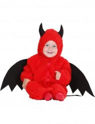 Kostume lille dæmon rød til baby