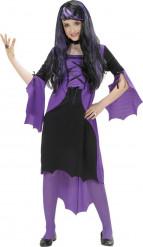 Udklædningsdragt lilla vampyr Halloween Barn
