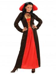 Kostume grevinde med stor krave til kvinder Halloween