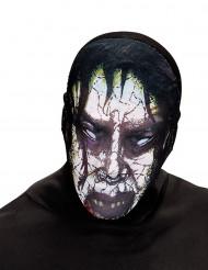 Zombiemaske Halloween voksen
