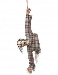 Dekoration zombie torso Halloween 92 cm