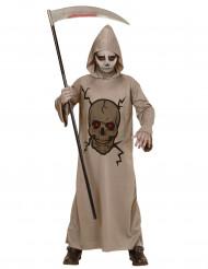 Skeletkostume Manden med leen halloween barn