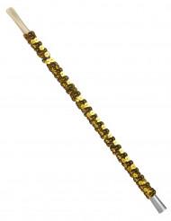 Guld Cigaretholder med pailletter
