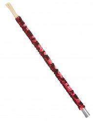 Rød Cigaretholder med pailletter