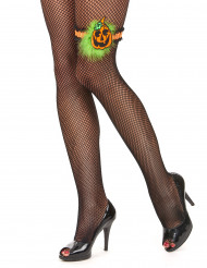 Strømpebånd med græskar Halloween