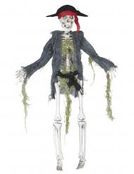 Dekoration zombie pirat 42 cm Halloween