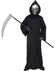 Kostume uhyggelig Manden med leen Halloween til børn