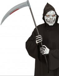Blodig le af plast 107 cm Halloween