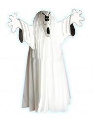 Dekoration selvlysende spøgelse 55 cm Halloween