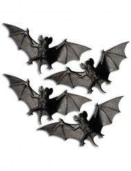 4 Flagermus 11 cm Halloween