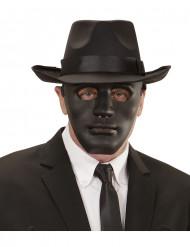 Anonym maske i sort voksen
