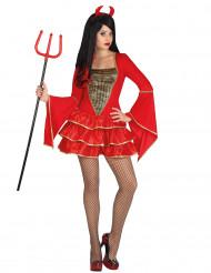 Udklædning djævel kvinde halloween