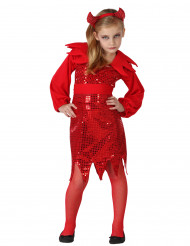 Udklædningsdragt djævel Halloween Barn