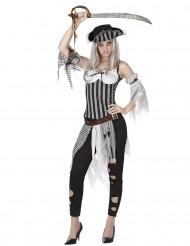 Udklædning zombie-pirat kvinde