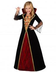Magisk Halloween vampyrkjole til piger