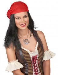 Paryk pirat med bandana til mænd