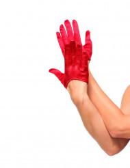 Minihandsker røde til kvinder