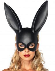 Maske kanin sort