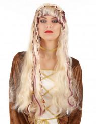 Blond middelalderparyk Kvinde