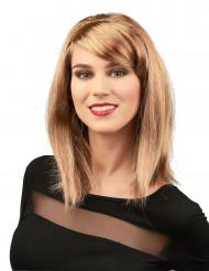 Glamourøs Blond Paryk Kvinde