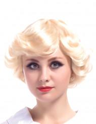 Blond Vintageparyk Kvinde