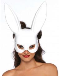 Hvid Kaninmaske