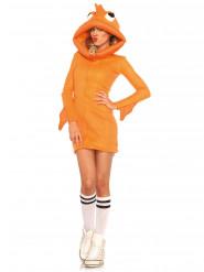 Guldfisk kostume, damestørrelse