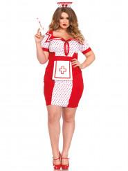 Fræk sygeplejerskekostume kvinde