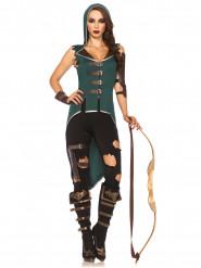 Kostume rebelsk skovkvinde