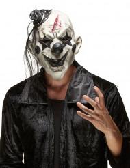 Skræmmende Rockklovnemaske Halloween Voksen Latex
