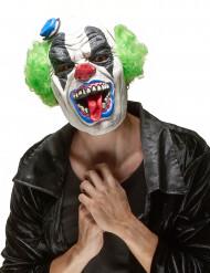 Frygtelig Klovnemaske i Latex Halloween Voksen