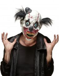 Blodig Klovnemaske i Latex Halloween Voksen