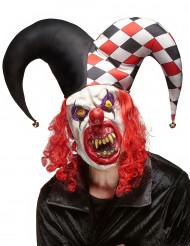 Skræmmende Jokermaske i Latex Halloween Voksen