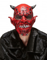 Dæmonmaske i Latex Halloween Voksen